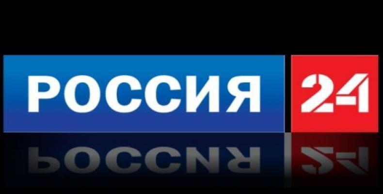 Logo de canal informativo ruso Rossiya 24.