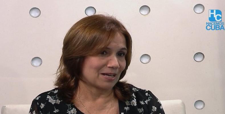 Mari Machado aclaró que el 10 de octubre no habrá una sesión constitutiva del órgano supremo del Estado. Fotos:@anamarianpp