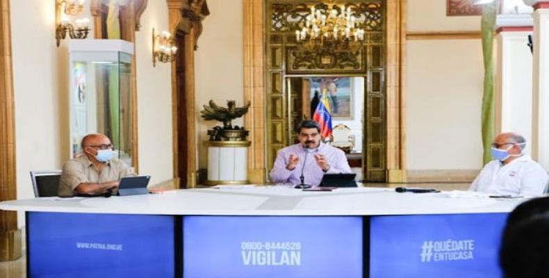 Nicolás Maduro, prezidento de Venezuelo