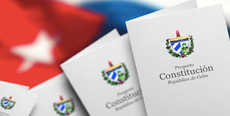 Projekto de nova konstitucio  en Kubo