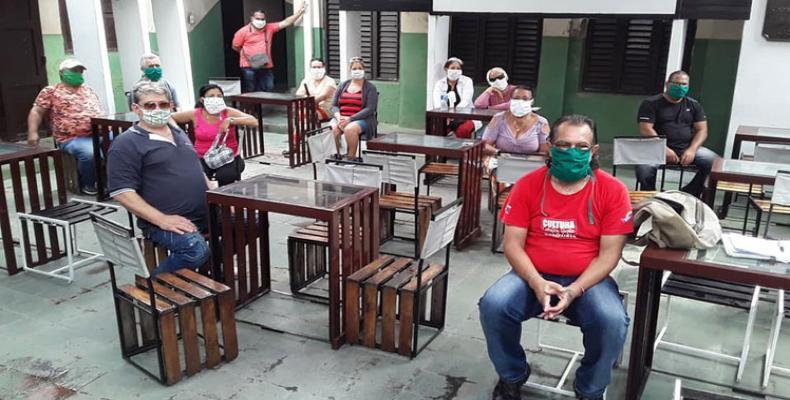 Consejo de las Artes Escénicas de la provincia central cubana de Sancti Spíritus activó el contingente Hugo Hernández. Foto: PL.