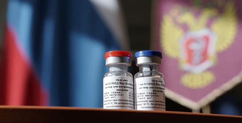 El Estado regulará el suministro y distribución de la nueva vacuna Sputnik V. Foto: PL.