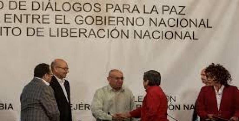 Encuentro anterior entre delegados del gobierno y el Eln de Colombia