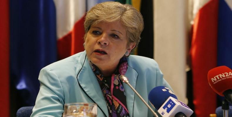 Cuba es ejemplo en favor de la cooperación sur-sur, Alicia Bárcena. Foto:Internet