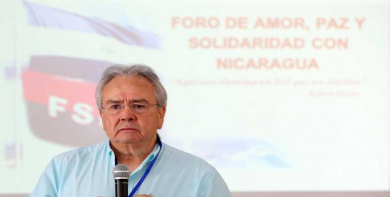 Gustavo Porras, presidente de la Asamblea Nacional. (Foto:vivanicaragua.com.ni)