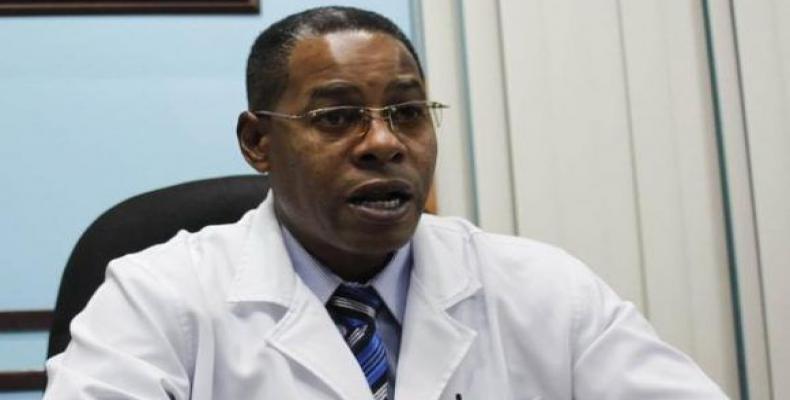 Dr. Carlos Alberto Martinez Blanco, director of General Calixto Garcia Hospital.