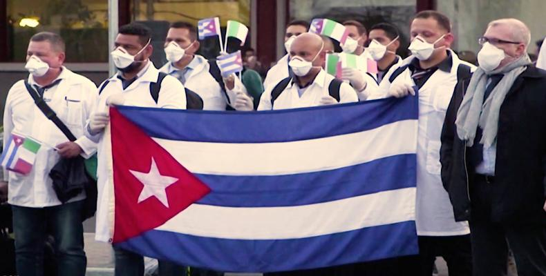 Cuba has sent medical brigades to eleven countries to fight the global pandemic