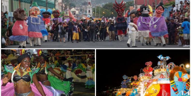 Comienzan carnaveles en Santiago de Cuba. Foto: PL.