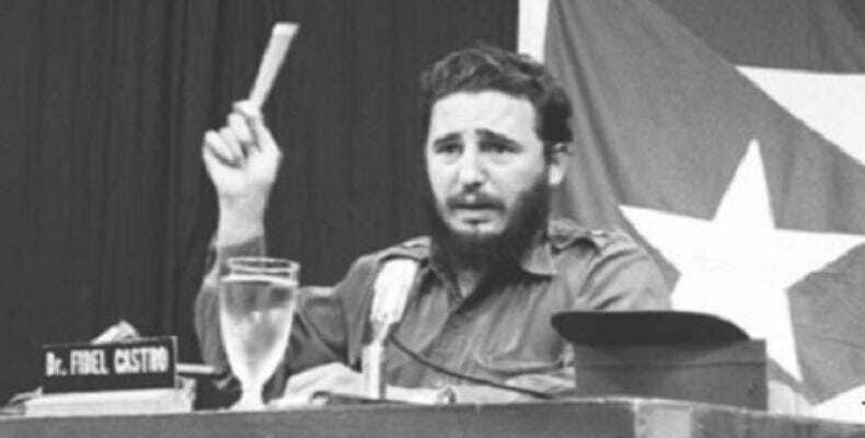 Foto: Fidel Soldado de las Ideas.