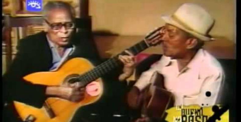 Duo cubano Los Compadres.Foto:Archivo.