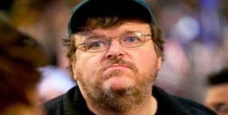 U.S. Filmmaker Michael Moore