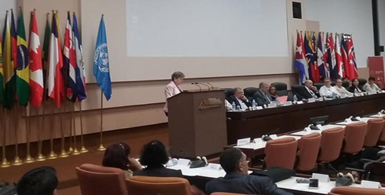 Alicia Barcena, ECLAC´s Executive Secretary addresses National Day