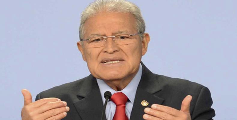 Presidente, Salvador Sánchez Cerén