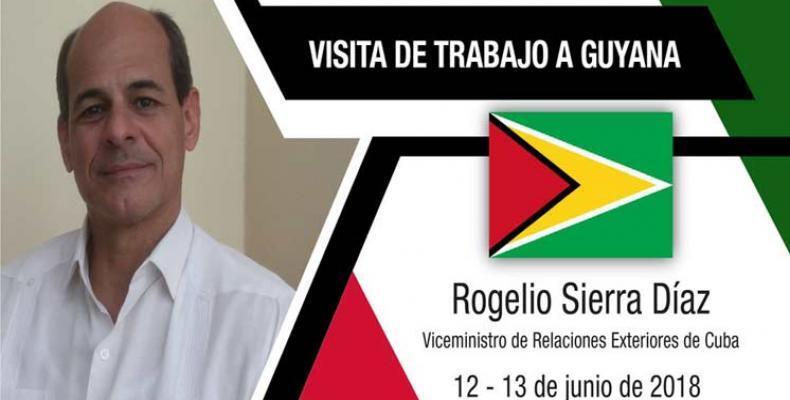 Viceministro cubano de Relaciones Exteriores Rogelio Sierra.Foto:PL.
