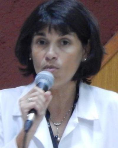 Sur la photo, Tania Crombet, directrice des recherches au Centre d'Immunologie Moléculaire de La Havane