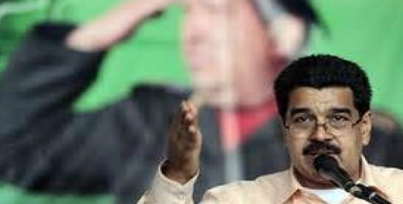 Nicolás Maduro refuta a Rajoy
