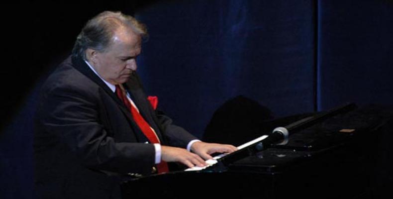 Pianista cubano Frank Fernández.