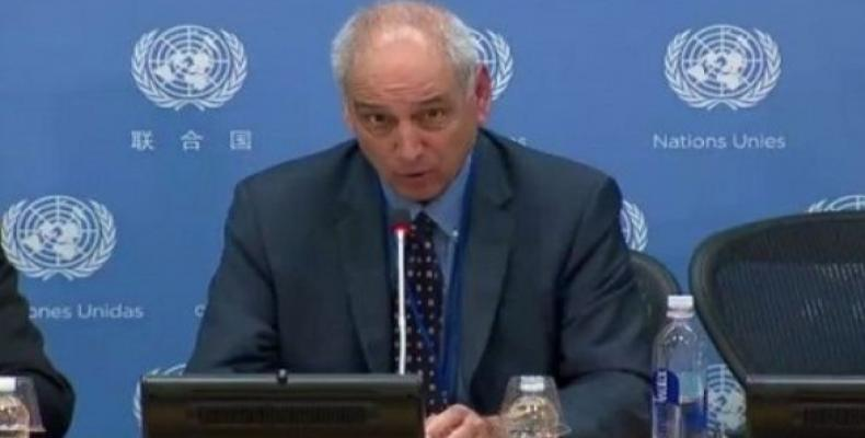 The UN rapporteur sent a report to the UN General Assembly stating the Israeli occupation in Palestine is longest occupation in the world. (Photo: UN)