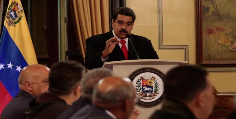 """Continuaremos el rumbo de una patria que quiere paz, tranquilidad, amor"""", agregó el Jefe de Estado. Foto: AVN"""