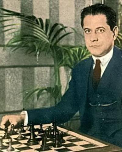 José Raúl Capablanca. Foto: clasicosajedrez.es