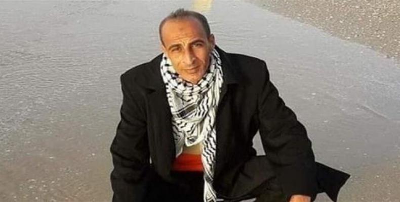Late Palestinian Samir Ghazi al-Nabahin.  Photo: Twitter
