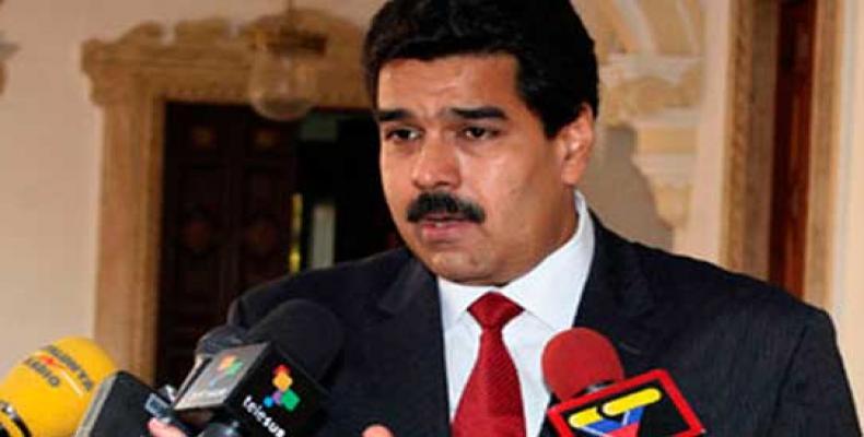 Presidente da Venezuela exorta a apoiar nas urnas a Revolução Bolivariana.