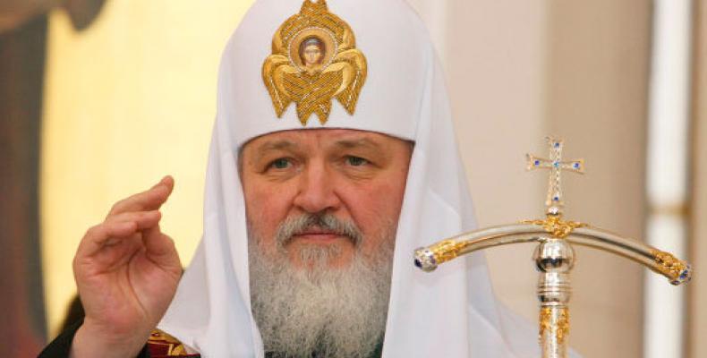 Patriarca ruso Kiril