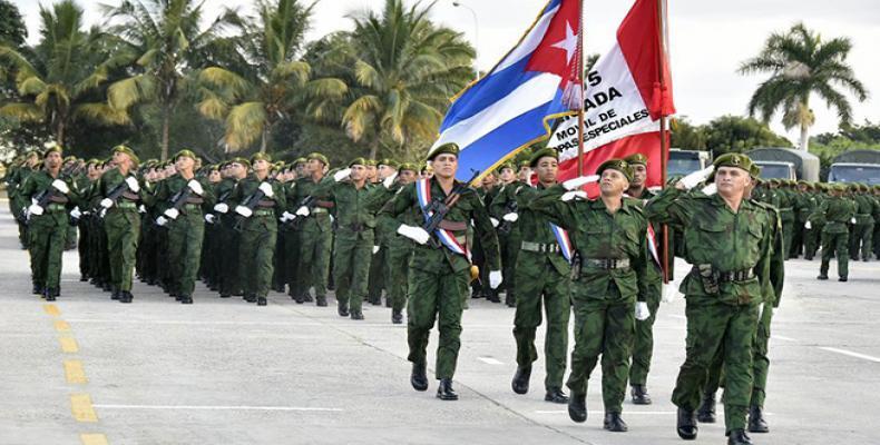 Este cuerpo armado destaca por las múltiples misiones en que ha participado. Fotos: Estudios Revolución
