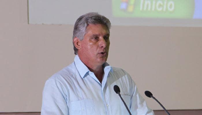 Miguel Díaz-Canel, primer vicepresidente cubano