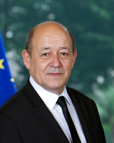 Jean-Yves Le Drian,  ministro para Europa y Asuntos Exteriores de Francia.(Foto:internet)