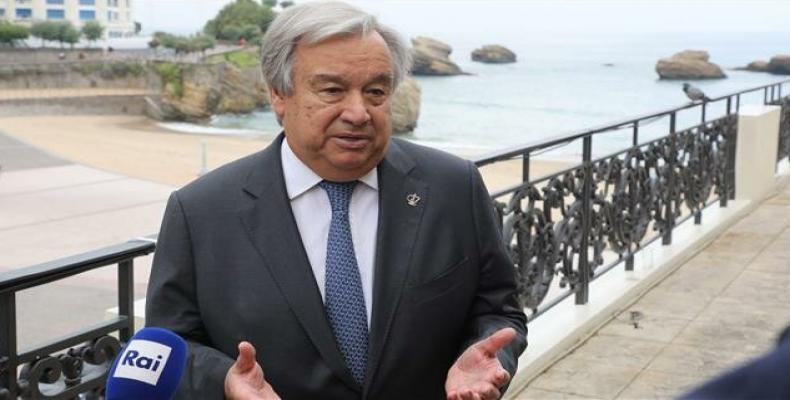 United Nations Secretary General Antonio Guterres. (Photo: AFP)