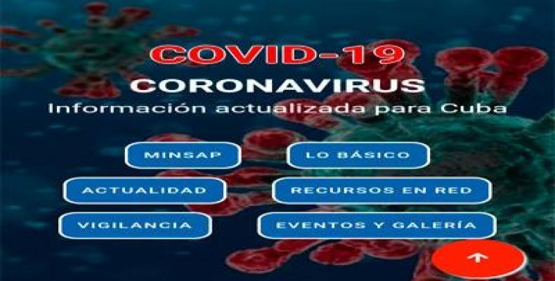 Minsap anunció sobre una nueva aplicación para dispositivos móviles sobre el Covid-19. Foto: Juventud Técnica.