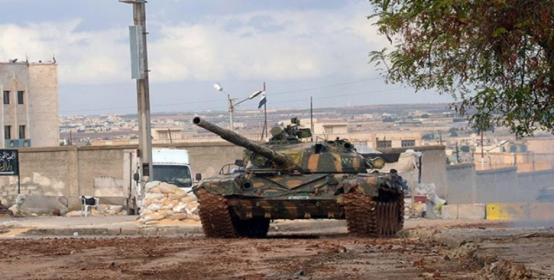 Ejército sirio entra en región de Alepo