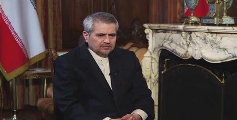 Iran's UN Ambassador Gholamali Khoshroo