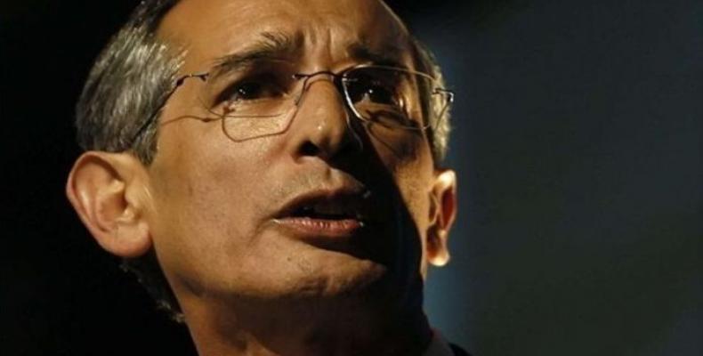 Álvaro Colom, ex presidente de Guatemala. Foto/efe