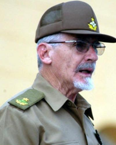 Cuban Vice President Ramiro Valdes