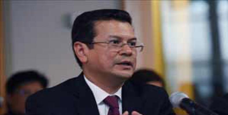 Canciller salvadoreño Hugo Martínez. Foto: Archivo
