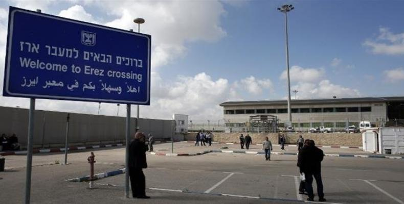 Israel tightens its years-long blockade of the coastal Gaza Strip by closing the Erez crossing into the Palestinian enclave.  Photo: Press TV