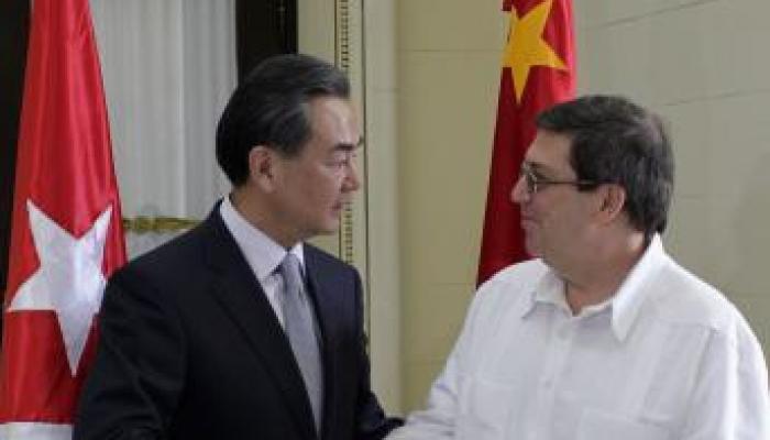 Le chef de la diplomatie cubaine avait visité la Chine en novembre 2018. Photo des archives