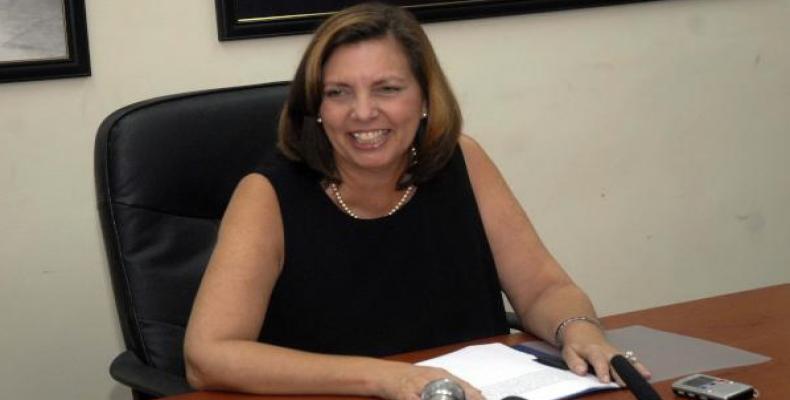 Josefina Vidal, directrice des États-Unis au ministère cubain des Affaires étrangères.