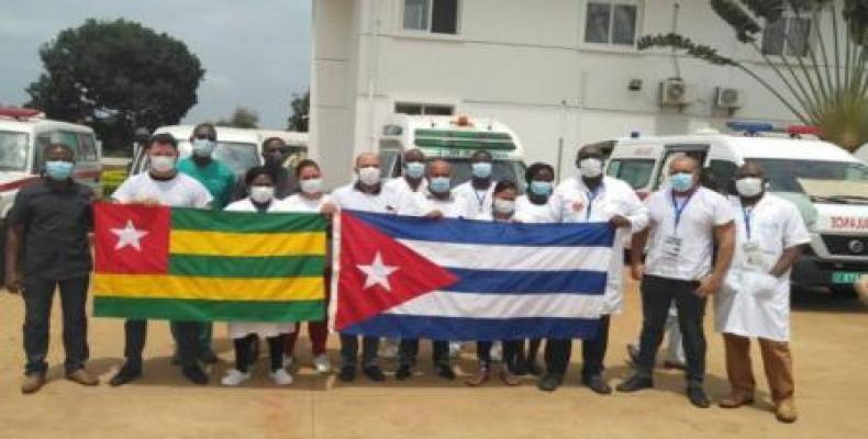 Brigada médica cubana en Togo