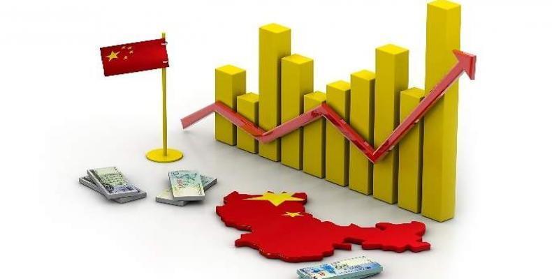 Proyecta China este año crecimiento del PIB por encima del seis por ciento