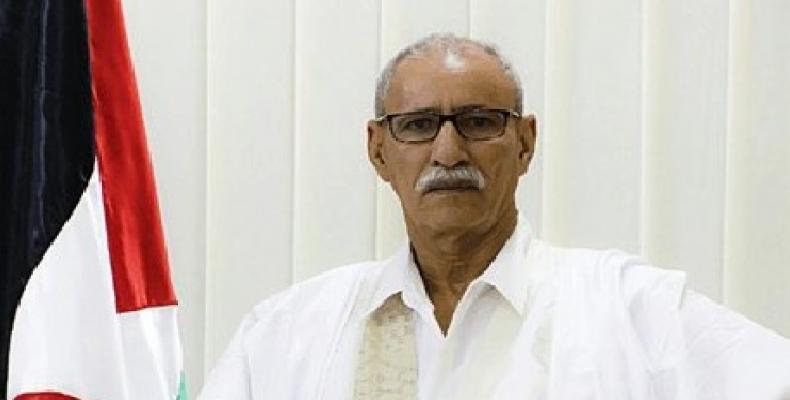 President of the Sahrawi Arab Democratic Republic, Brahim Ghali