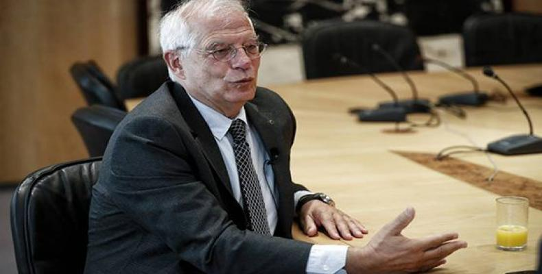 Borrell ratificó que Europa y España se oponen a la cruel medida de la Casa Blanca. Foto: El País
