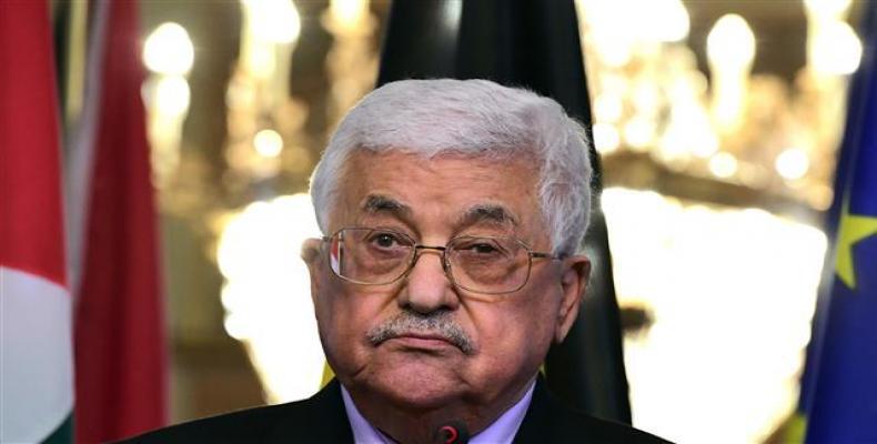 Mahmoud Abbas sostendrá conversaciones con el presidente cubano, Miguel Díaz-Canel. Foto: Archivo