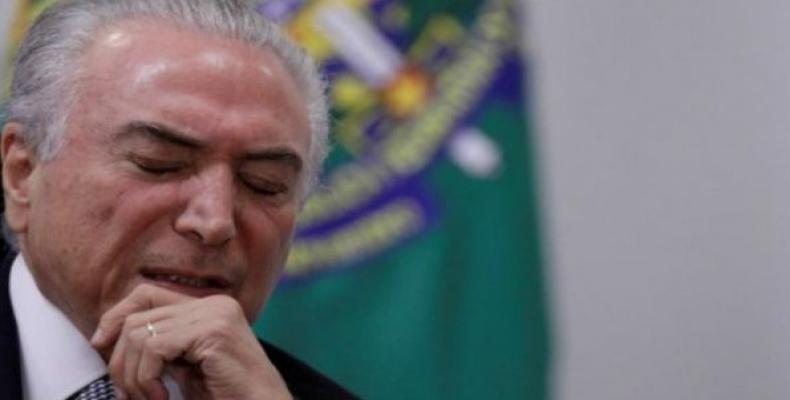 Michel Temer, el más impopular presidente en la historia brasileño