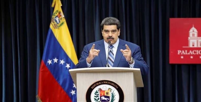Venezuela's President Nicolas Maduro speaks during a news conference in Caracas, Venezuela, on December 12, 2018.  Photo: Reuters