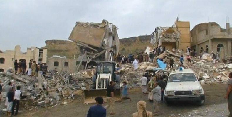 U.S. airstrikes hit Yemeni cities.  Photo: AFP