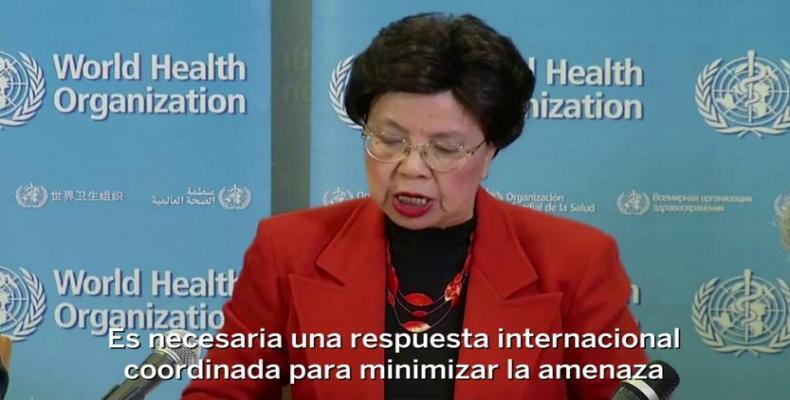 La directora general de la OMS Margaret Chan consideró el virus zika como una amenaza de proporciones alarmantes. (Foto: El Pais)