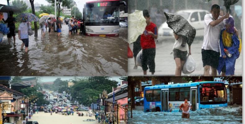 Malasia, evacua por lluvias torrenciales a más de 100 mil. Foto: Internet